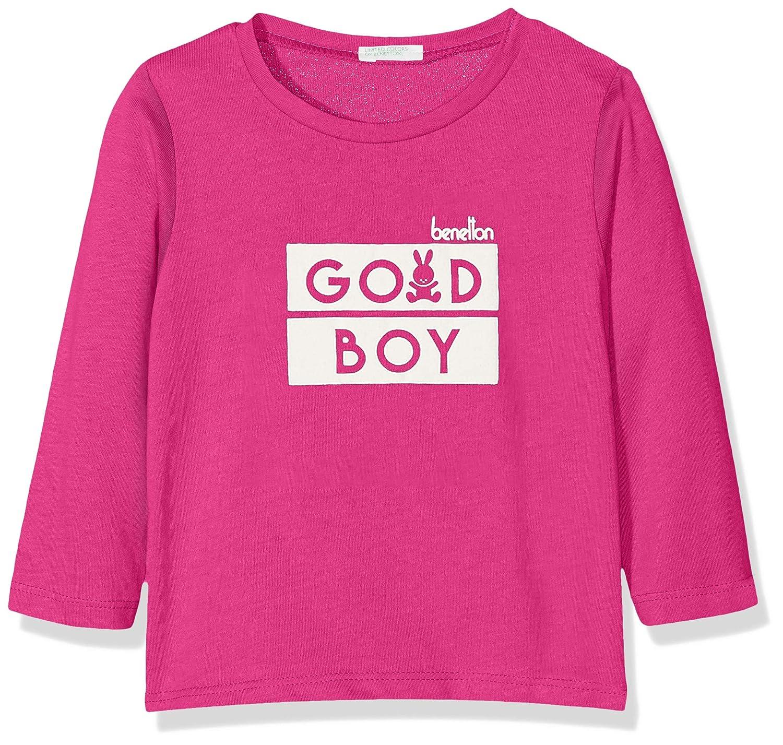 United Colors of Benetton T-Shirt L//S Camiseta para Beb/és