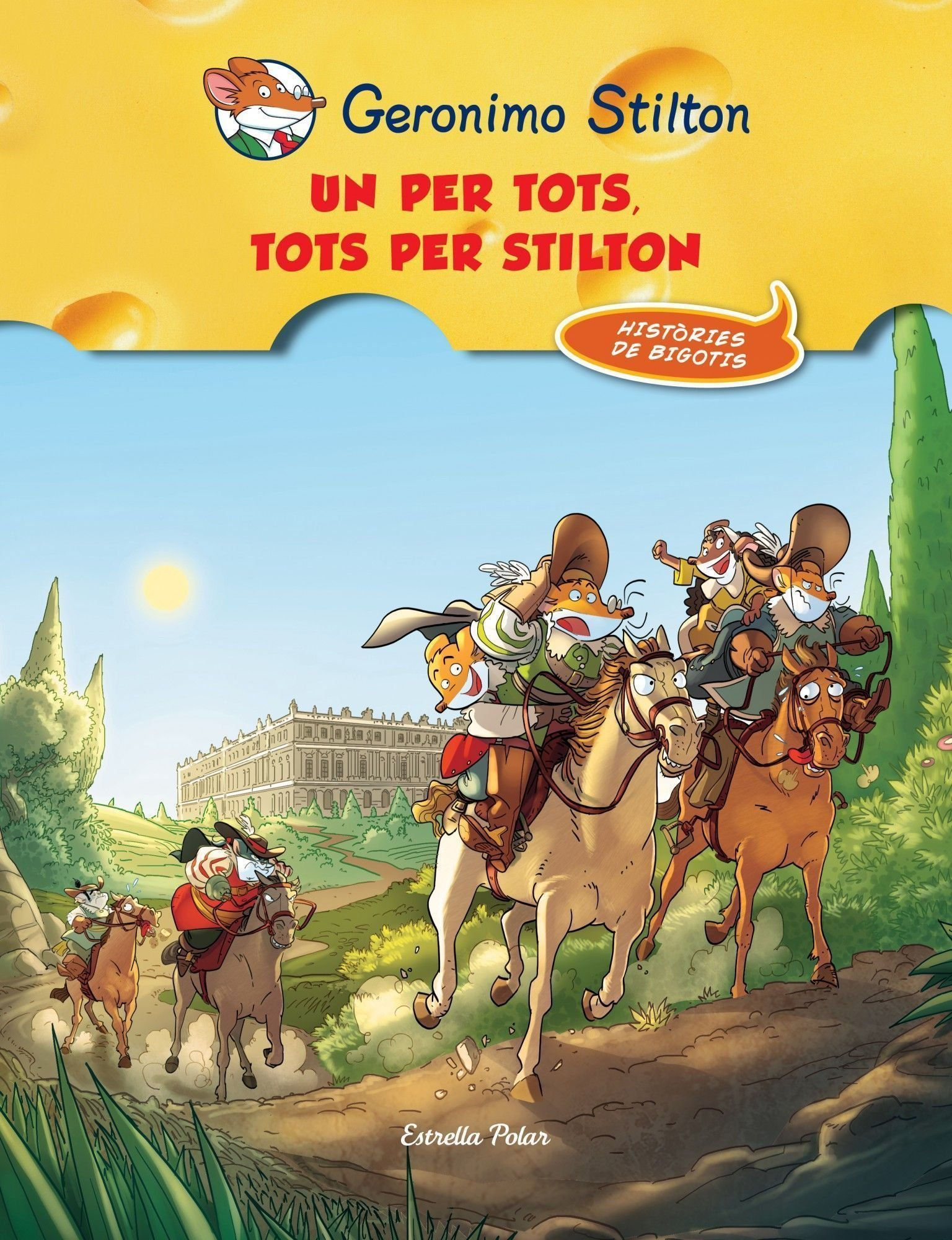Un Per Tots, Tots Per Stilton! (Geronimo Stilton): Amazon.es ...