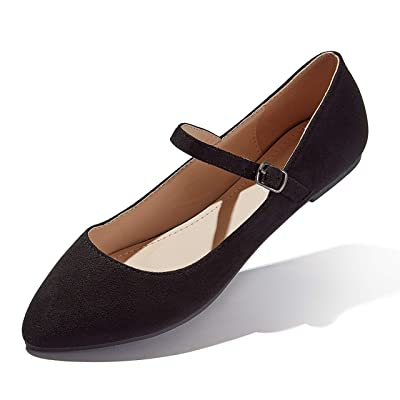 DailyShoes Women's Classic Flats Comfortable Upper Round Flat Slip-On Loafer Sneaker Shoes-Ideal for Casual Occasions | Shoes