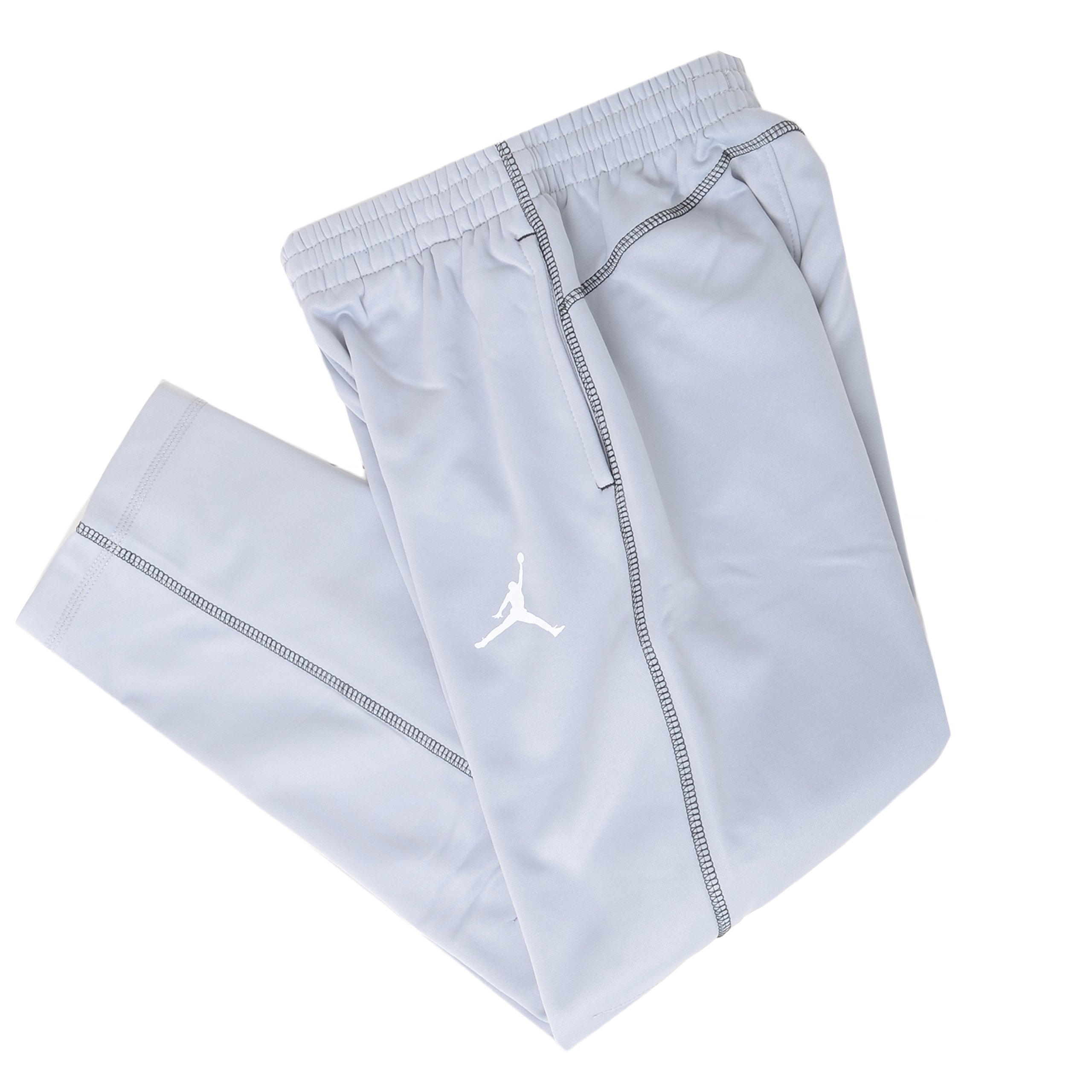 Jordan Big Boys Therma Fit Track Pants (M(10-12YRS), Wolf Grey) by Nike
