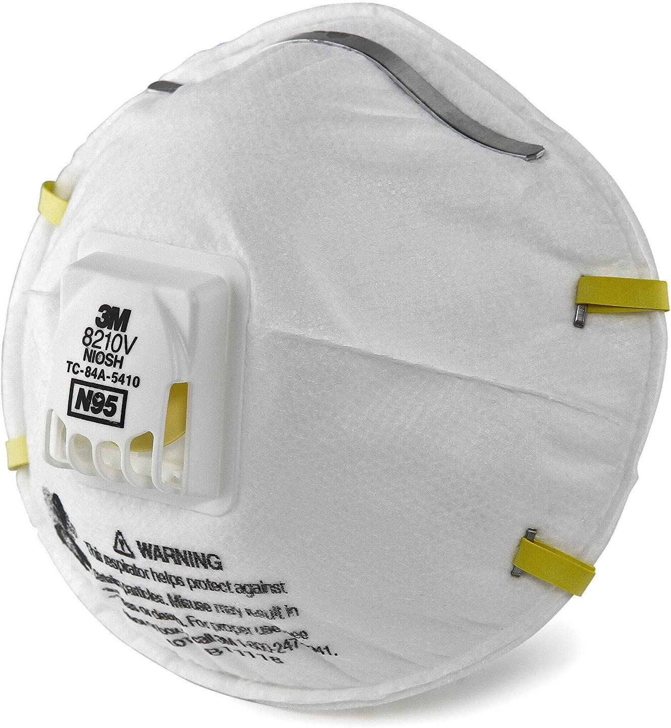3m 8210v Particulate N95 Respiratory Respirator Case Protection