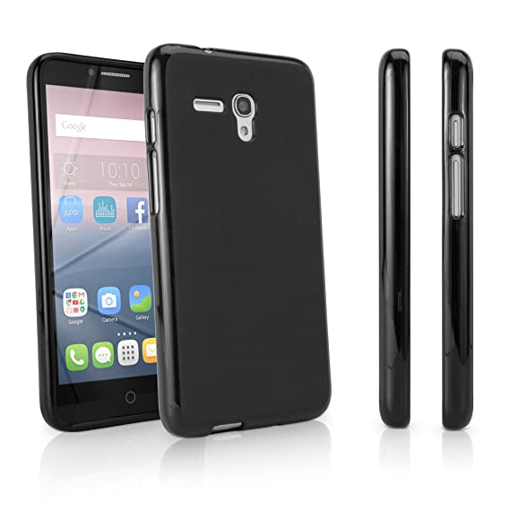 Alcatel OneTouch Pop 3 (5 5) GSM 5054 Case, BoxWave [Blackout Case]  Durable, Slim Fit, Black TPU Cover for Alcatel OneTouch Pop 3 (5 5) GSM 5054