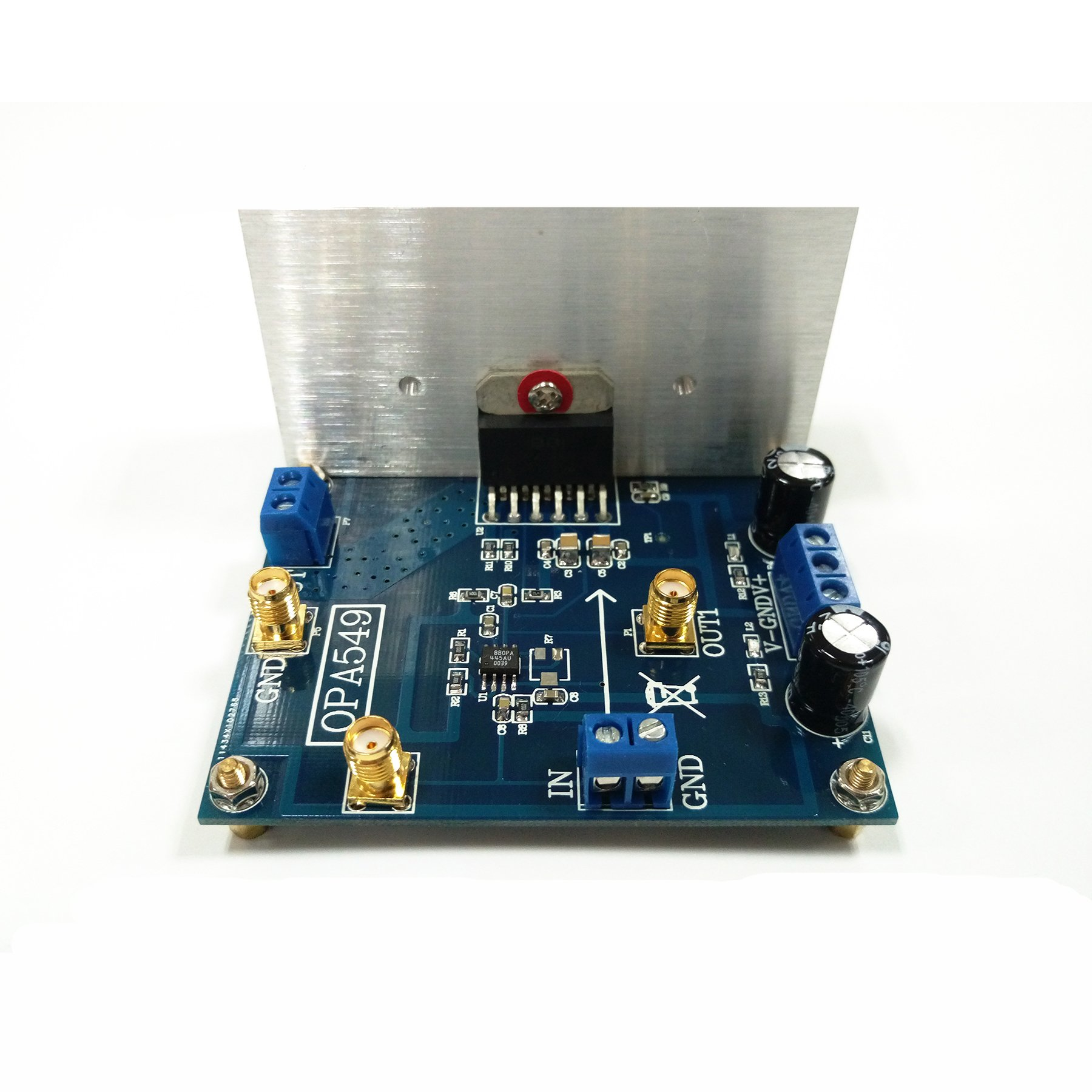 Taidacent OPA549 Audio Power Amplifier 8A Current High Voltage High Current Op Amp with Excellent Output Swing