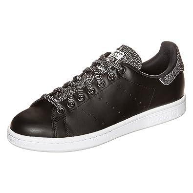 best authentic 3b4c6 9c0d5 adidas Originals Stan Smith B35446, Damen Low-Top Sneaker, Schwarz (Core  Black