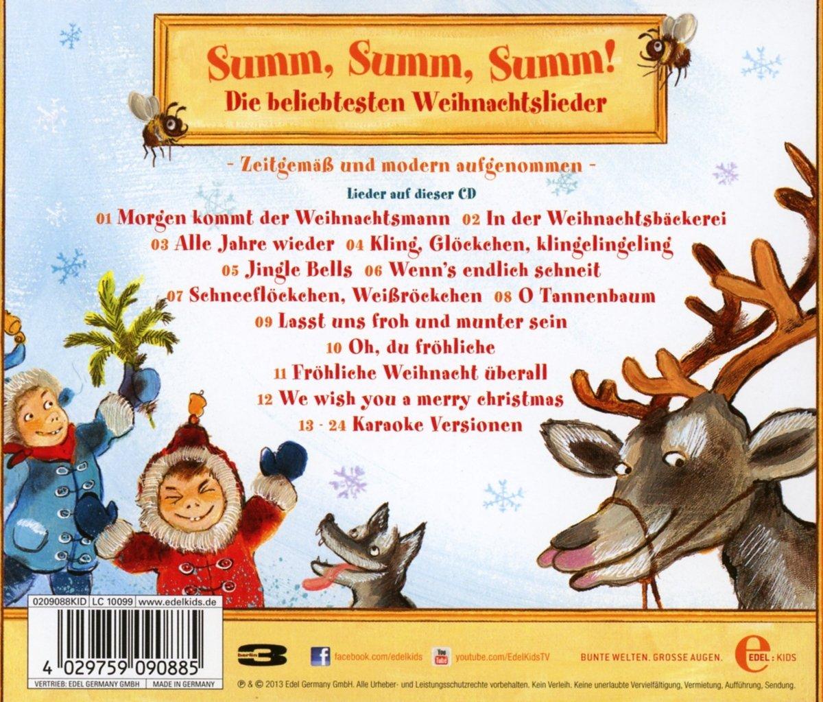 Summ Summ Summ! - Die beliebtesten Weihnachtslieder - Various ...