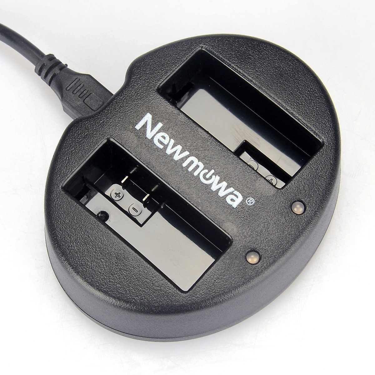 Newmowa Dual USB Charger for Canon LP-E8 and Canon EOS 550D, EOS 600D, EOS Rebel T2i, EOS Rebel T3i, EOS Rebel T4i, EOS Rebel T5i