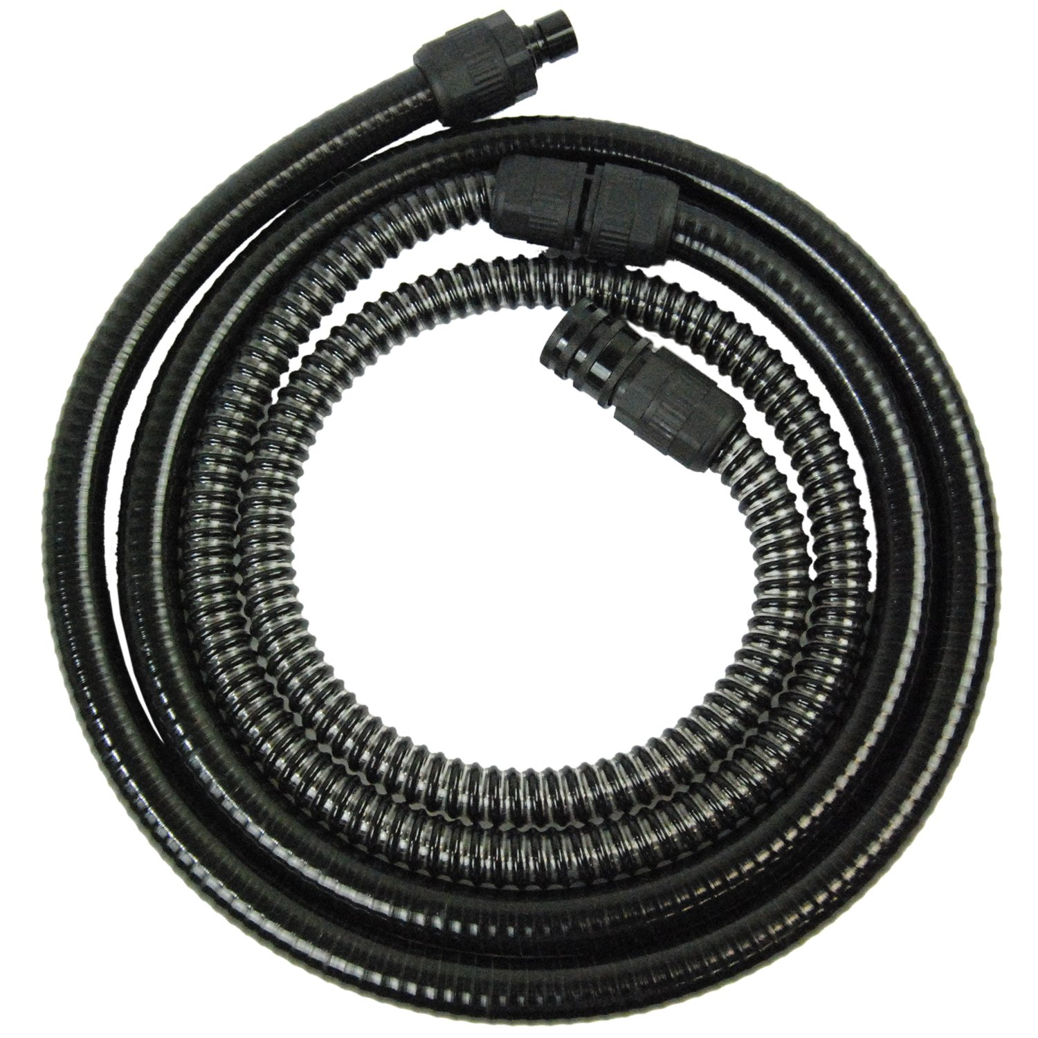 10 Foot Heavy Duty Turbine HVLP Air Hose with Quick-Connect Coupler & Plug