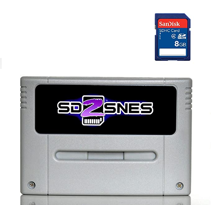 SD2SNES Everdrive Super Nintendo + 8gb sd card - SNES ...