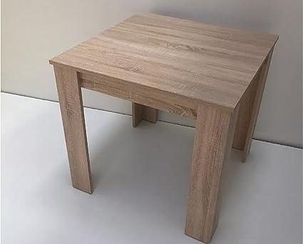 Möbel SD Esstisch Dani Sonoma Eiche 80 x 80 cm