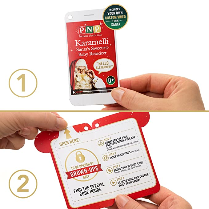 Amazon. Com: portable north pole karamelli santa's sweetest baby.