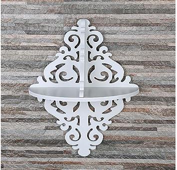 AuBergewohnlich Weiß Geschnitzte Blumen Sammlung Rahmen Moderne Einfache Wandregale  Wanddekoration Dekorative Trennwand Wohnzimmer Schlafzimmer Dekoration ,