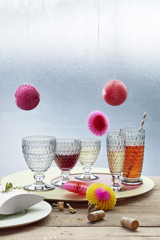 Villeroy /& Boch Boston Wei/ßweinglas Kristallglas 120mm