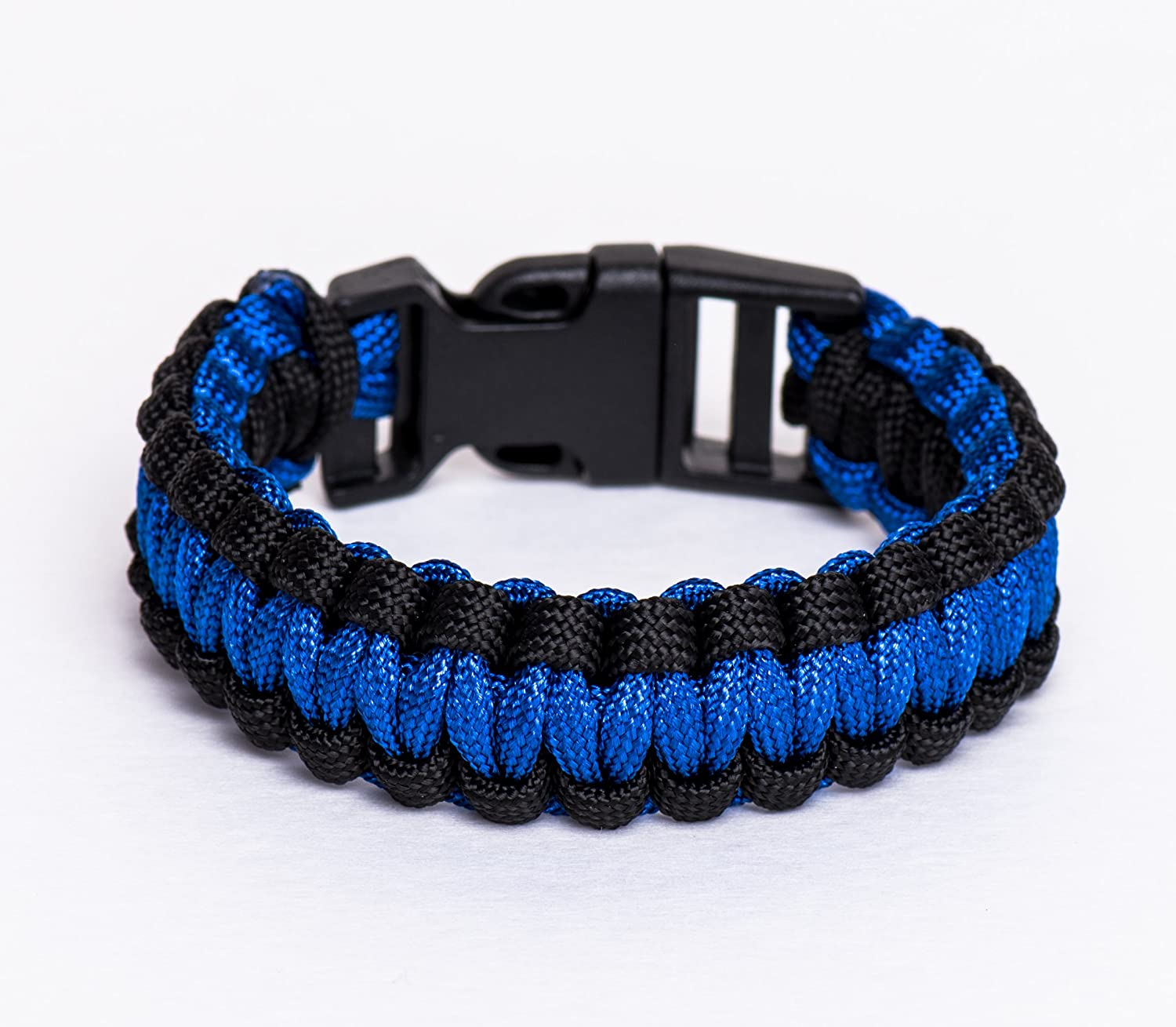 Thin Blue Line Usa Flag Police Paracord Bracelet Support Lives Thin Red Line Us America Flag Paracord Survival Armband Bangle Buckles & Hooks Arts,crafts & Sewing