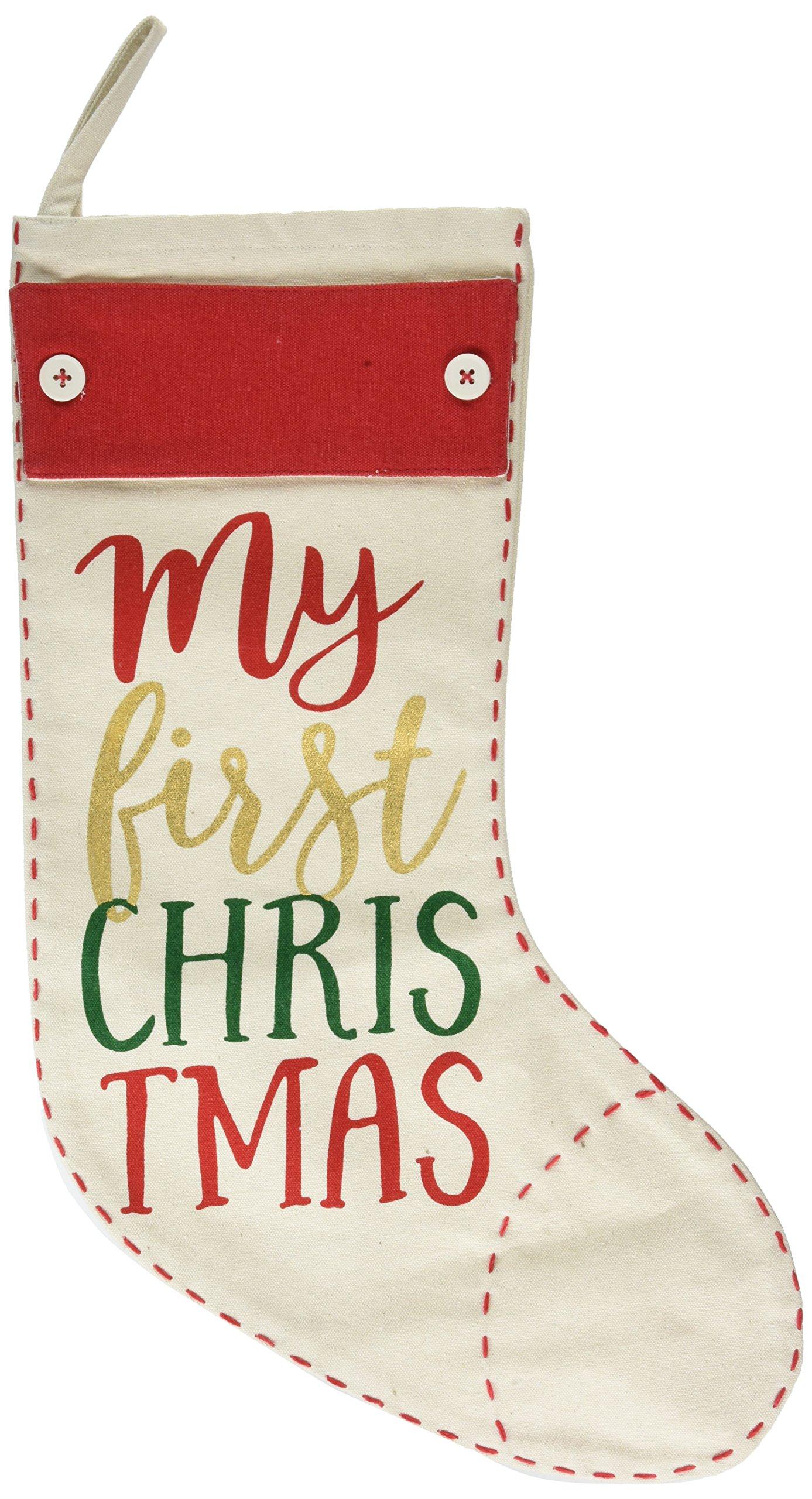 Mud Pie MY First Christmas Stocking