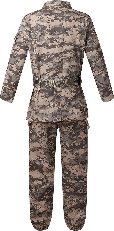yolsun Deluxe Kids Camo Combat Soldier Army Costume