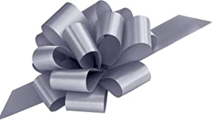 Silver Decorative Gift Pull Bows - 5
