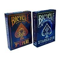 Bicycle Stargazer & Fire Elements Series Playing Cards Bundle 2 Decks