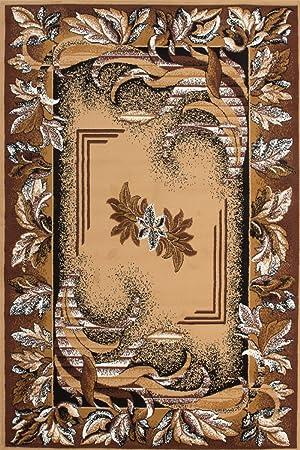 Kayoom Moderne Tapis Iran Isfahan 160cm X 230cm Beige 100