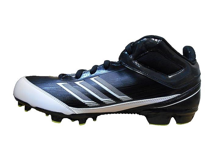 adidas AS SMU Scorch X Field Turf Men's Football Cleats (11,  Black/White-Slime): Amazon.ca: Shoes & Handbags