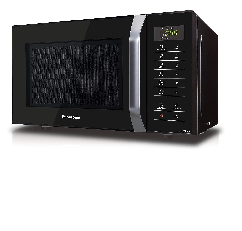 Panasonic NN-K37HBMEBG - Horno de microondas combinado con ...