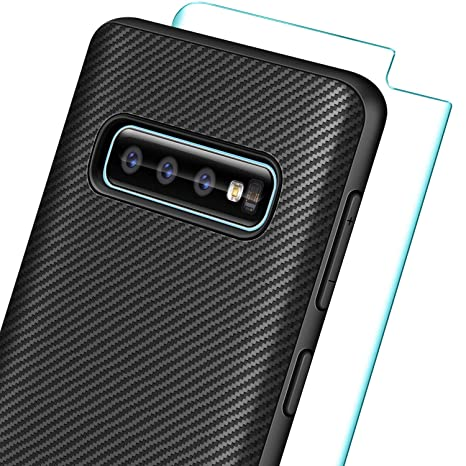 Cristal Templado Samsung Galaxy S10 Protector Carcasa Tpu Cases, Covers & Skins Pack Funda Silicona