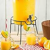 Kilner - Ständer, Gestell für Getränkespender Rund - für 5 und 8 Liter Gestränkespender geeignet - Metall