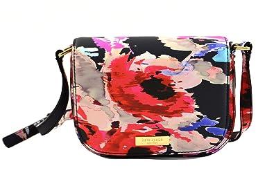 b7fbacf6a84f Amazon.com: Kate Spade Carsen Laurel Way Printed Crossbody Bag: Shoes