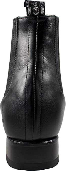 Amazon.com | EL CANELO Mens Charro Short Ankle Boots Deer ...