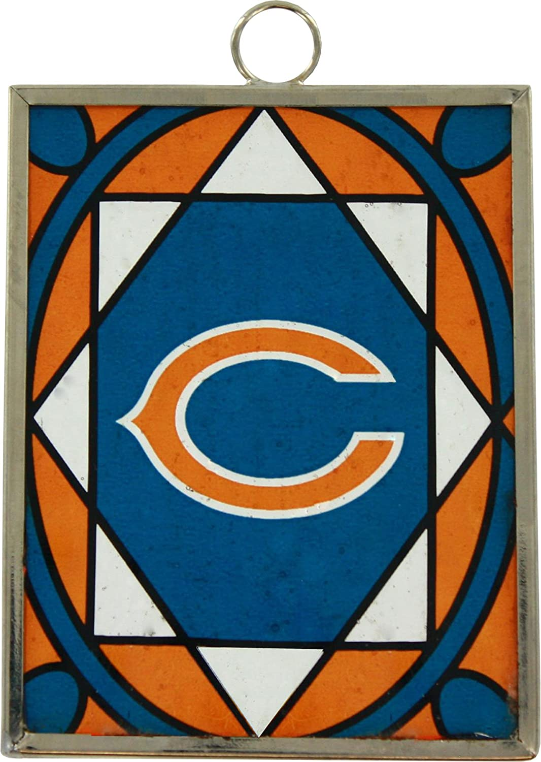 Topperscot Chicago Bears Stained Glass Ornament /& Sun Catcher