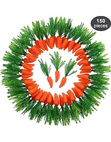 sourcingmap/® Halloween No/ël Faux D/ésign D/écoration L/égumes Concombre artificiel vert 2pcs