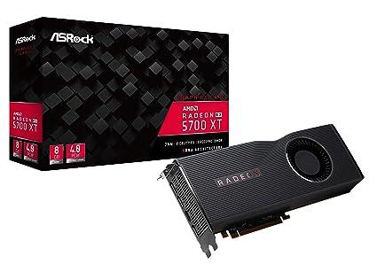 ASRock Radeon RX 5700 XT Tarjeta gráfica 8GB GDDR6, HDMI, 3X ...