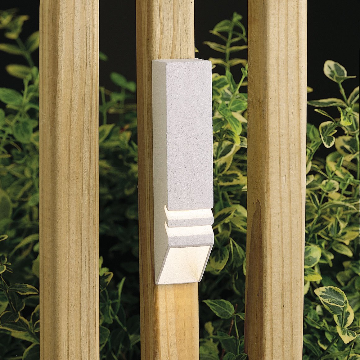 Kichler 15066WHT One Light Deck Rail