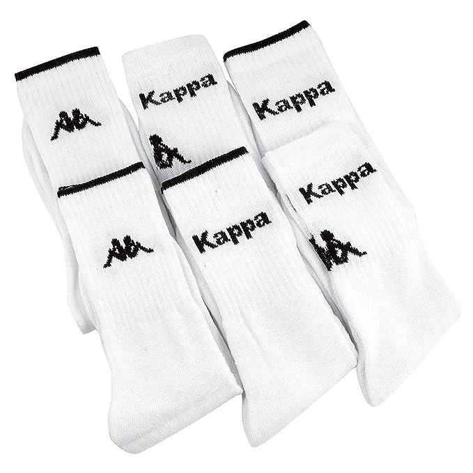 Kappa - Calcetines de deporte - para hombre blanco 39/42