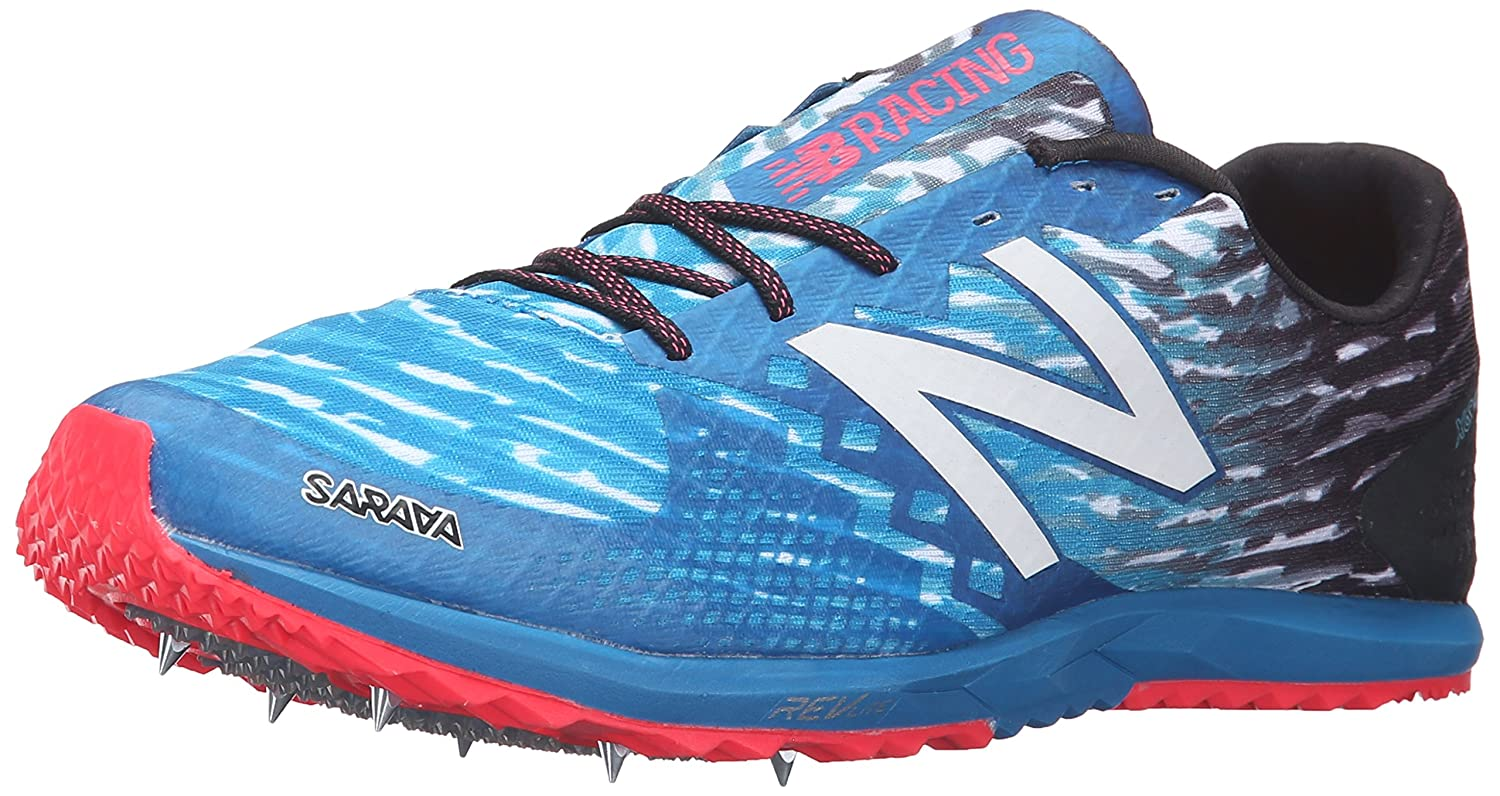 New Balance Men's 900v3 Cross-Country Track Spike B019EE9U9E 12 D(M) US|Black/Blue