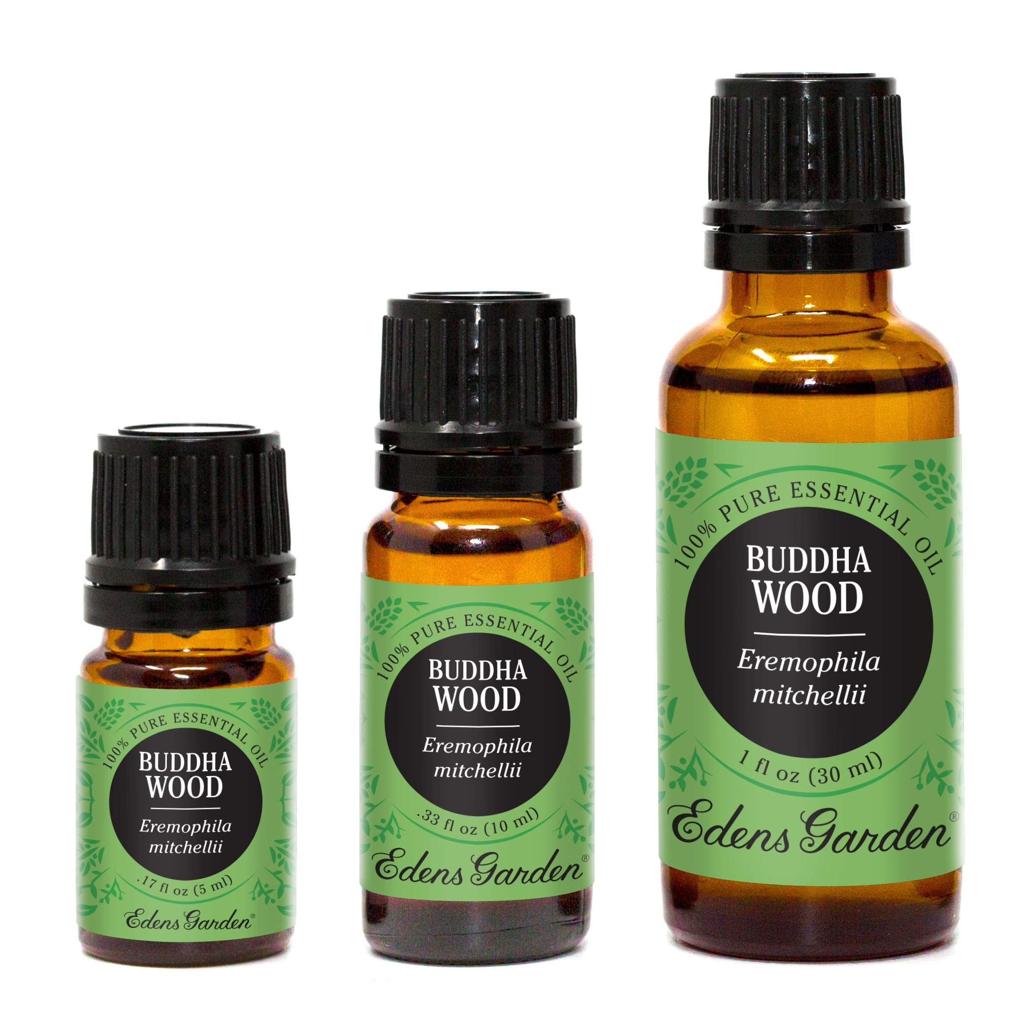 Edens Garden Buddha Wood 10 ml 100% Pure Undiluted Therapeutic Grade Essential Oil GC/MS Tested