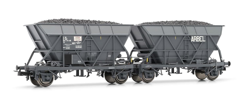 Unbekannt Jouef HJ6145 2-teilig Wagen-Set Bauart EF30 Arbel der SNCF Modellbahn, Grau