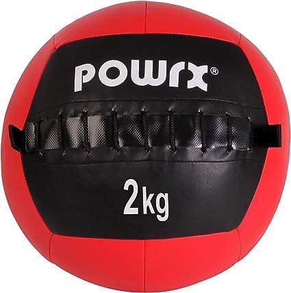 Balón medicinal Wall Ball, 1-10 kg, 2 kg / Rot: Amazon.es ...