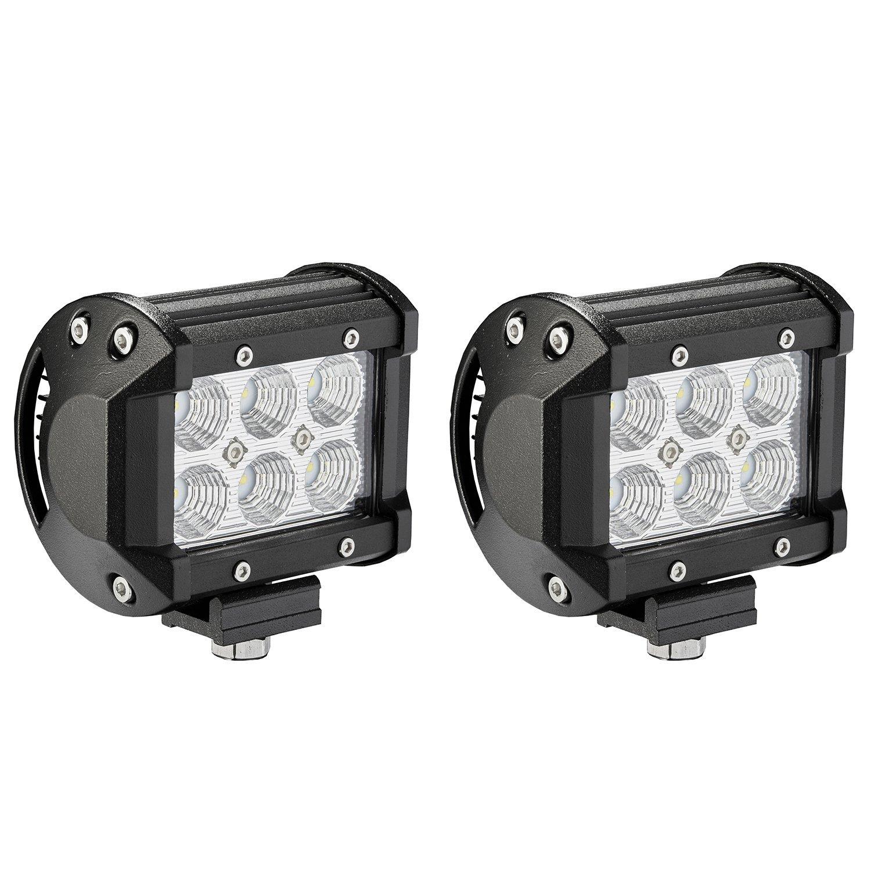 1 Year Warranty 1Lead 12ft Liteway LED Light Bar Wiring Harness Wireless Strobe Wiring Kit ON-OFF-Strobe Remote Control Switch for Driving Light Fog Light Work Light