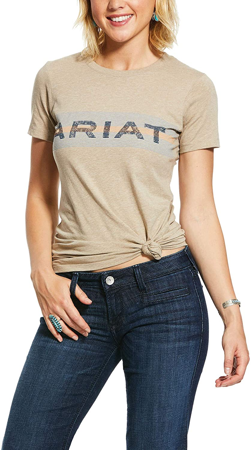 ARIAT Women's Linear Wordmark T-Shirt