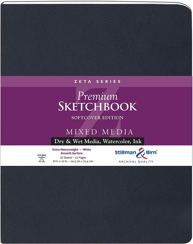 Stillman & Birn Zeta Series Softcover Sketchbook, 8