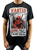 Marvel Deadpool Armed and Dangerous Men's Adult Graphic Tee T-Shirt
