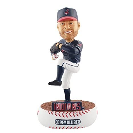 promo code fadb1 d35a7 Amazon.com : FOCO MLB Cleveland Indians Kluber C. #28 Baller ...
