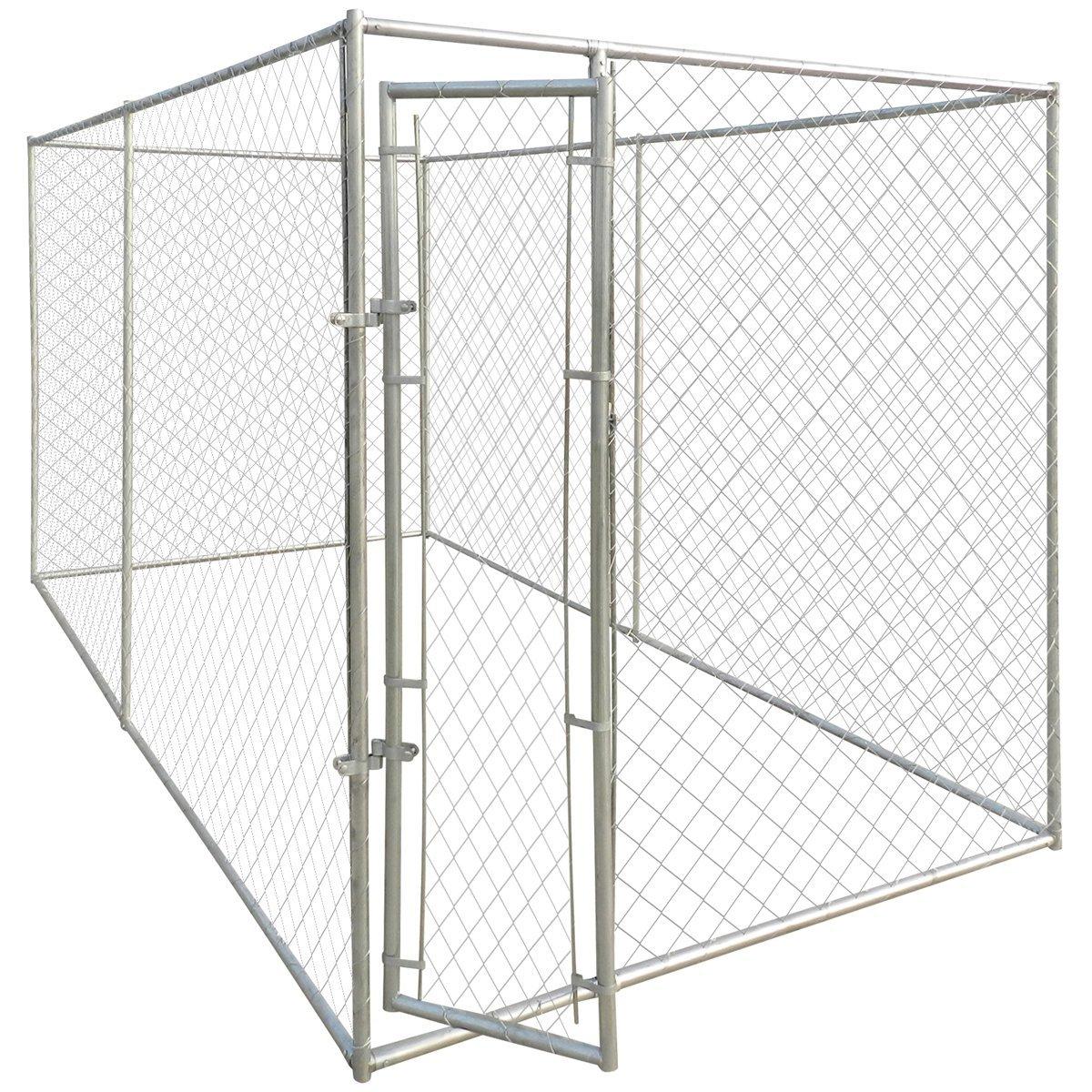 VidaXL Gabion Basket U-Shape Steel 160x20x150cm Garden Stone Rock Wire Fence