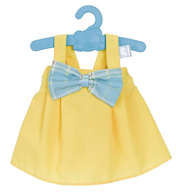 Nenuco Ropita con percha 42cm, Vestido Amarillo (Famosa 700012824)