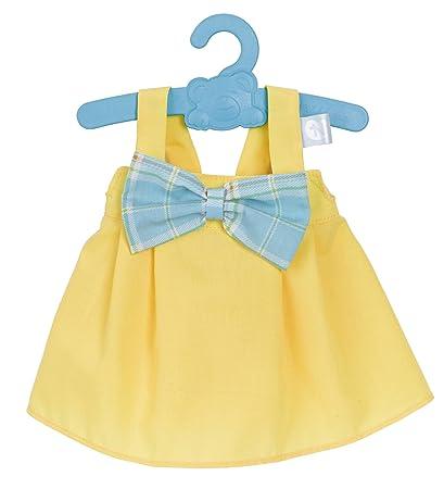 Nenuco Ropita con percha 42cm, Vestido Amarillo (Famosa 700012824): Amazon.es: Juguetes y juegos
