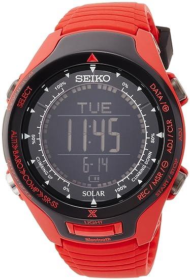 Seiko Prospex · Solar sbel007 Miura Especial importación de Japón: Amazon.es: Relojes