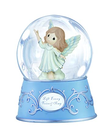 Precious Moments Lift Every Voice and Sing Water Globe Figurine