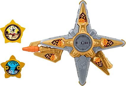 Power Rangers Super Ninja Steel DX Gold Ninja Battle Morpher, Gold Ninja Morpher