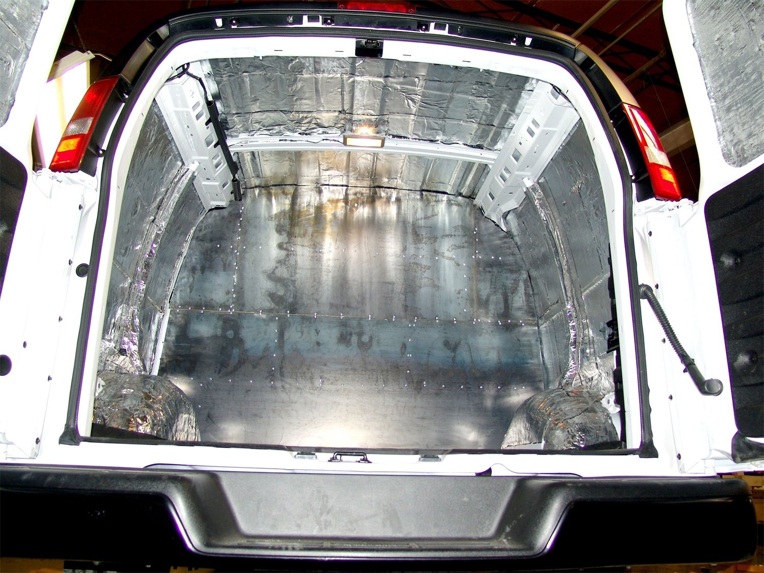 2015 Sprinter 3500 Cabin Roof Hushmat 599105 Sound and Thermal Insulation Kit