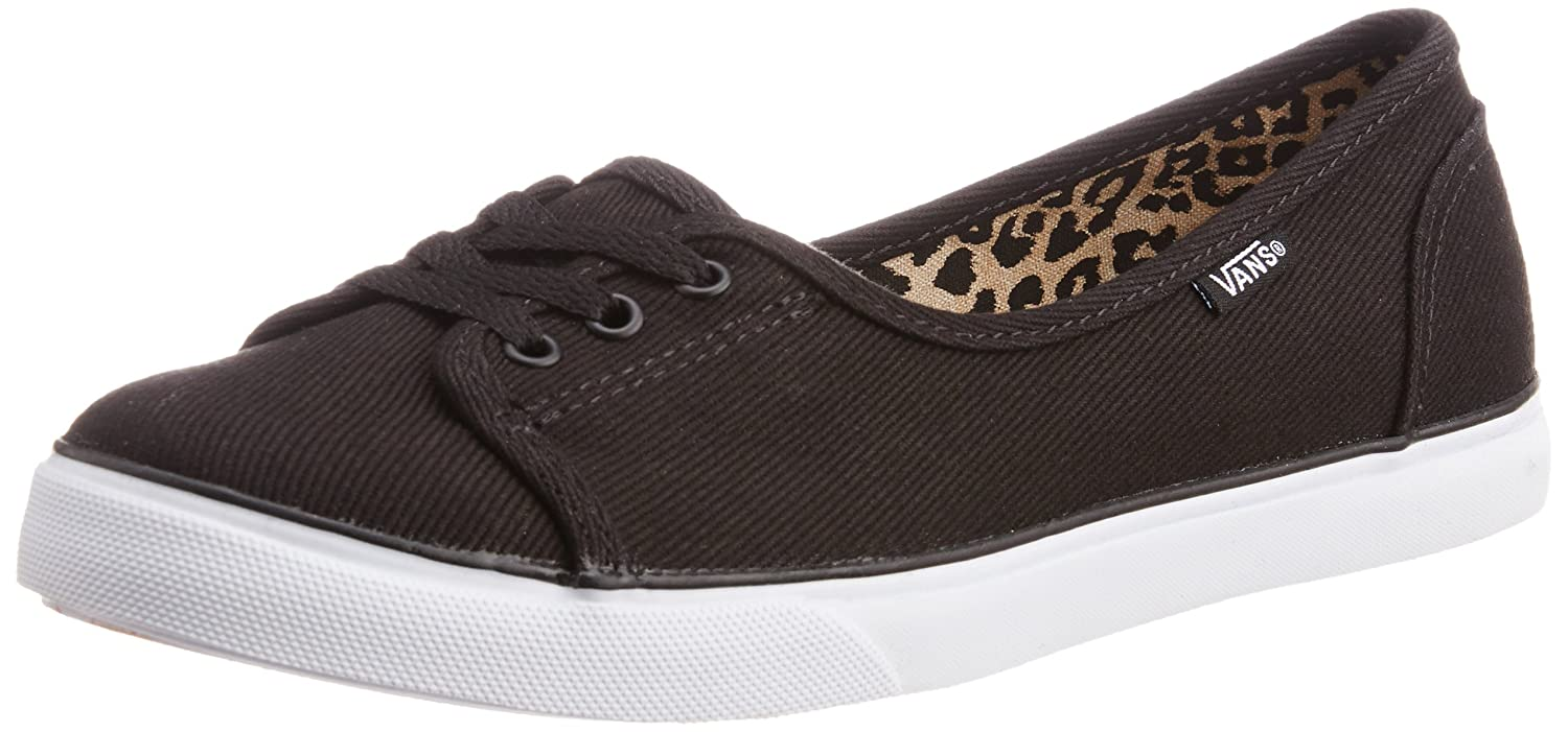 647fab9911e Vans Women s Jeanne Splatter Cheetah Black Canvas Ballet Flats - 6.5 UK  Buy  Online at Low Prices in India - Amazon.in
